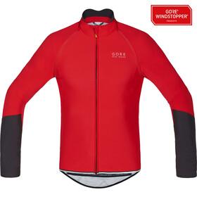GORE BIKE WEAR Power WS SO Zip-Off Jersey Men red/black